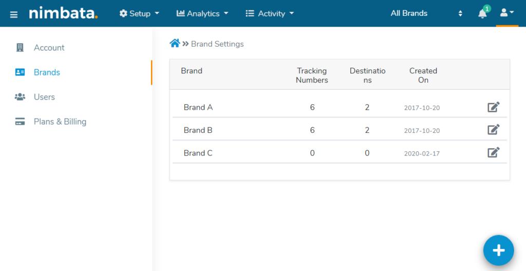 Nimbata Multi Client Account